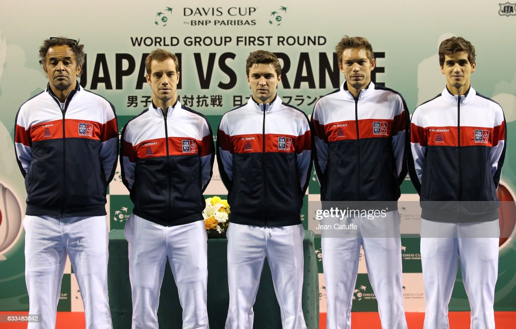 Japan v France: Davis Cup World Group - Previews