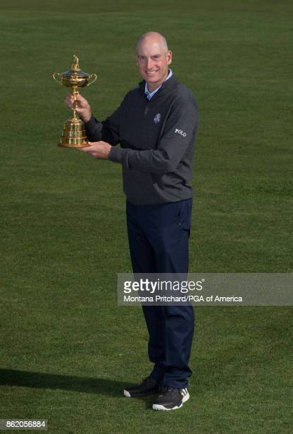 Captain of the United States Team Jim Furyk during the Captain's Photo Shoot during the Ryder Cup Year To Go Celebration at Pullman Paris Tour Eiffel...