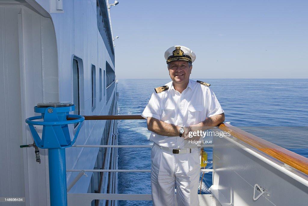 Captain On Bridge Of Cruiseship Silver Spirit Stock Photo Getty - Captain on cruise ship