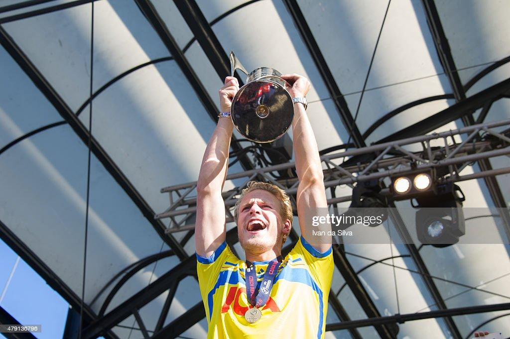 Sweden U21 Team Return to Sweden Victorious after winning UEFA European U21 Championship