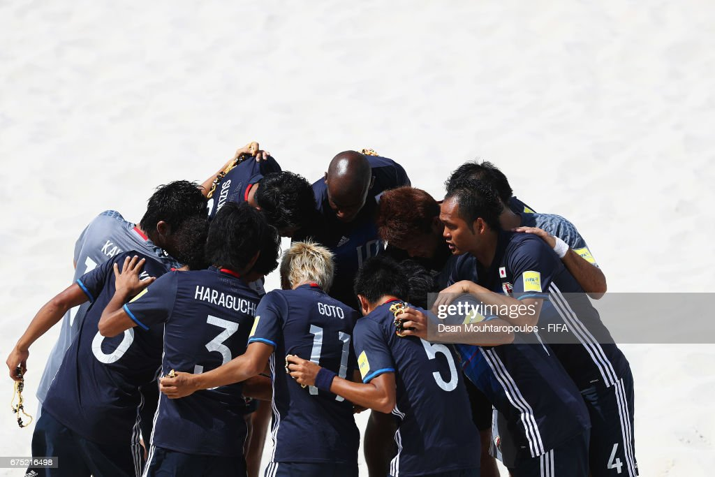 Tahiti v Japan - FIFA Beach Soccer World Cup Bahamas 2017 : News Photo