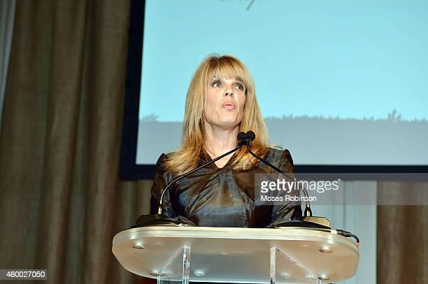 Captain Planet Board Chair Laura Turner Seydel attends the Captain Planet Foundation Gala at Intercontinental Buckhead on December 5 2014 in Atlanta...