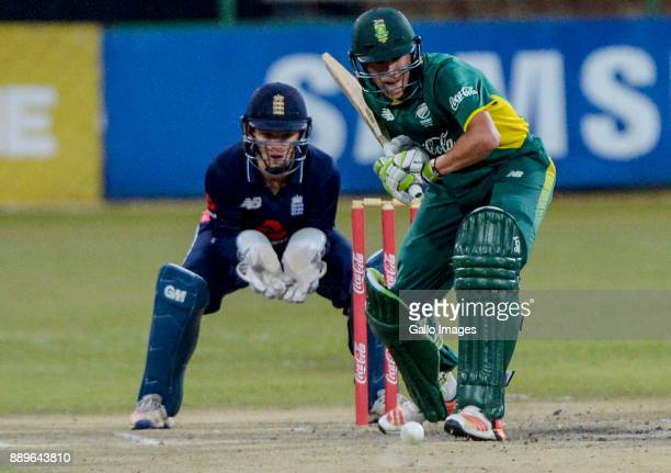 Captain Raynard Van Tonder of South Africa during the U/19 Tri Series Final match between South Africa and England at Senwes Park on December 10 2017...