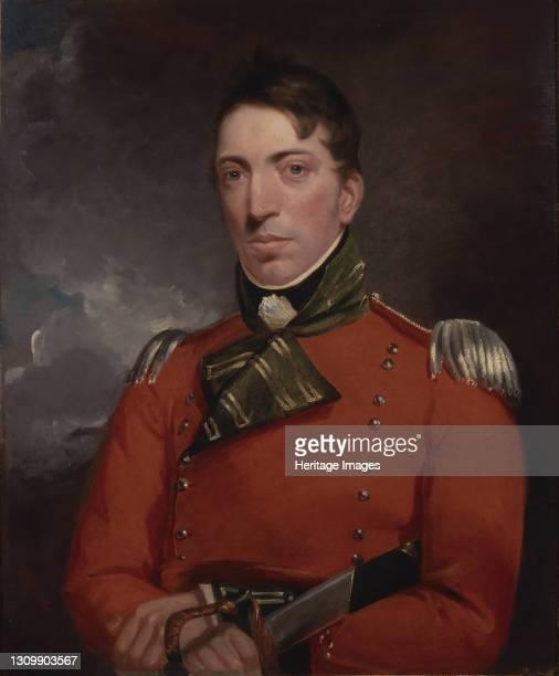 Captain Richard Gubbins, between 1804 and 1805. Artist John Constable. .