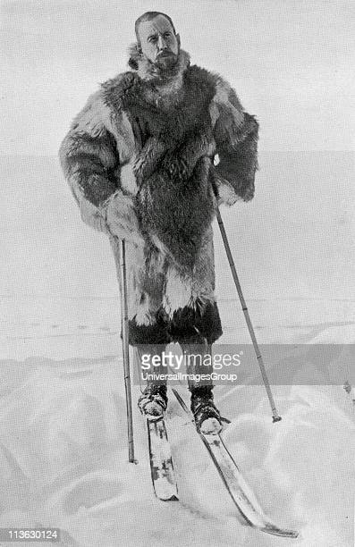Captain Roald Engelbregt Gravning Amundsen 1872 to 1928 Norwegian explorer of the polar regions From the book The Year 1912 illustrated published...