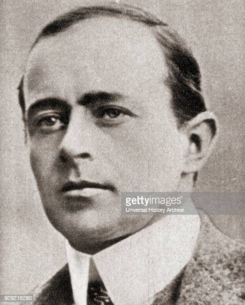 Captain Robert Falcon Scott 1868 – 1912 English Royal Navy officer and explorer who led two expeditions to the Antarctic regions the Discovery...