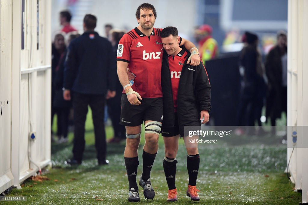 Super Rugby Rd 15 - Crusaders v Blues : News Photo