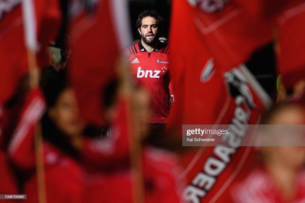 Super Rugby Semi Final - Crusaders v Hurricanes : News Photo
