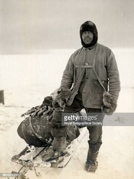 Captain Scott Antarctica 13th April 1911 British Antarctic Expedition 19101913
