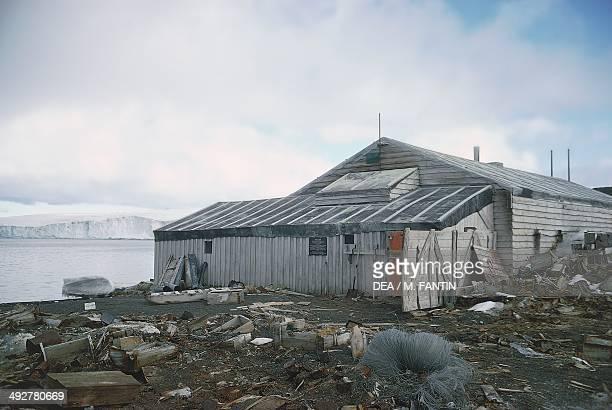 Captain Scott's base Cape Evans Antarctica