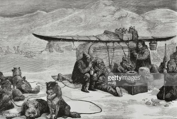 Captain Sir John Franklin's lost expedition to the Canadian Arctic, that departed from England in 1845, tragically ended with the death of all 129...