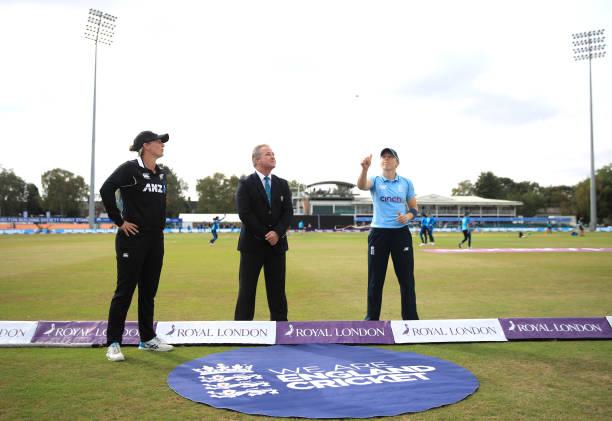 GBR: England Women v New Zealand Women - One Day International