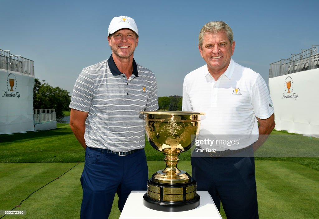 Presidents Cup  Media Day : News Photo