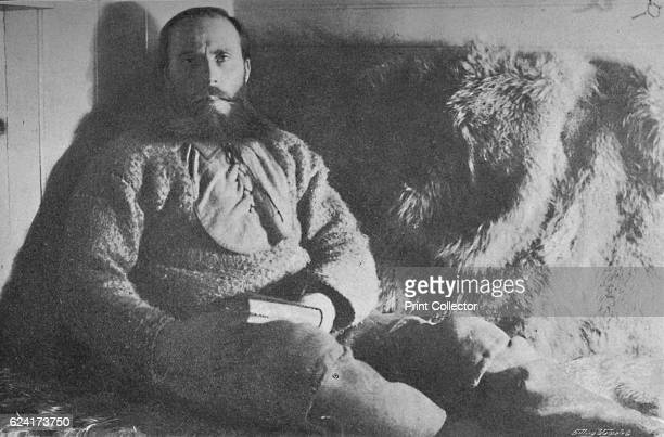 Captain Sverdrup in his Cabin' Otto Neumann Knoph Sverdrup was a Norwegian explorer who took part to the three year expedition aboard the 'Fram' led...