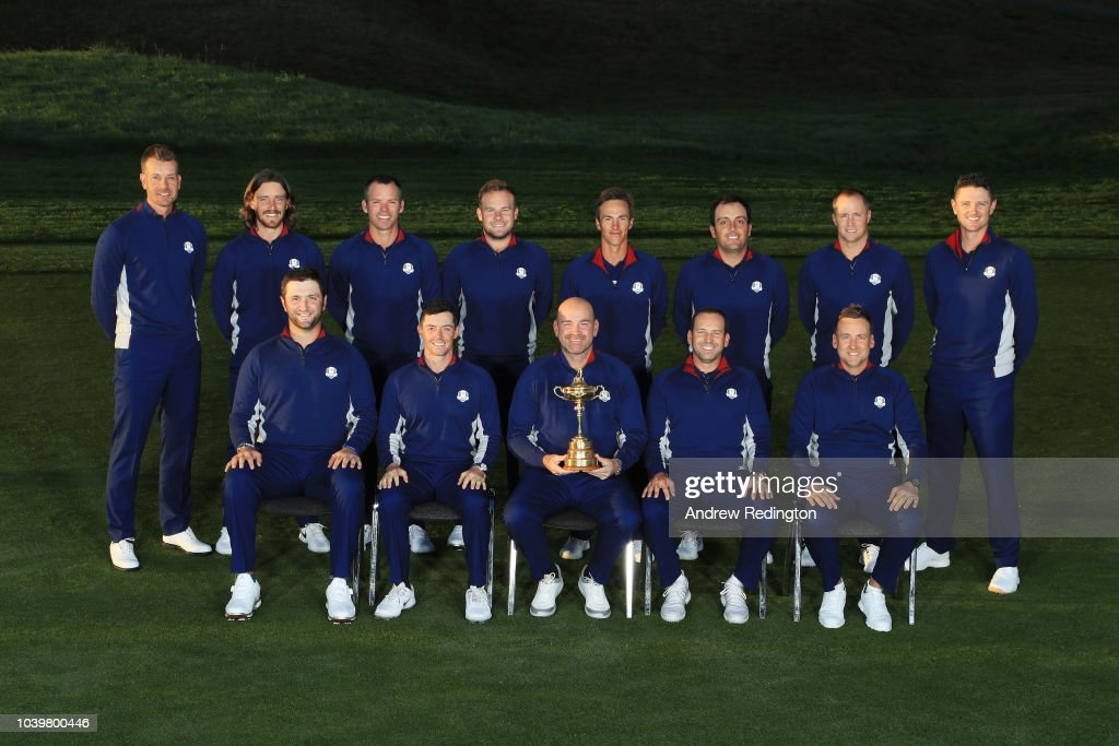 2018 Ryder Cup - European Team Photocall