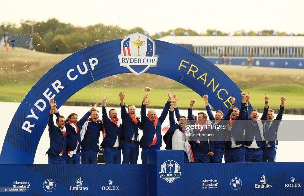 2018 Ryder Cup - Singles Matches : Nachrichtenfoto