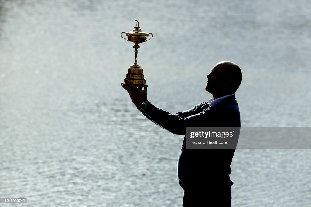 2018 Ryder Cup - Thomas Bjorn Press Conference : News Photo