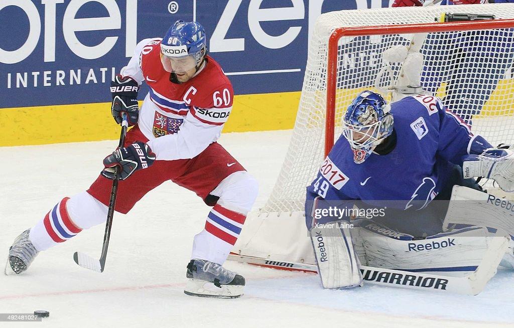 France v Czech Republic - 2014 IIHF World Championship