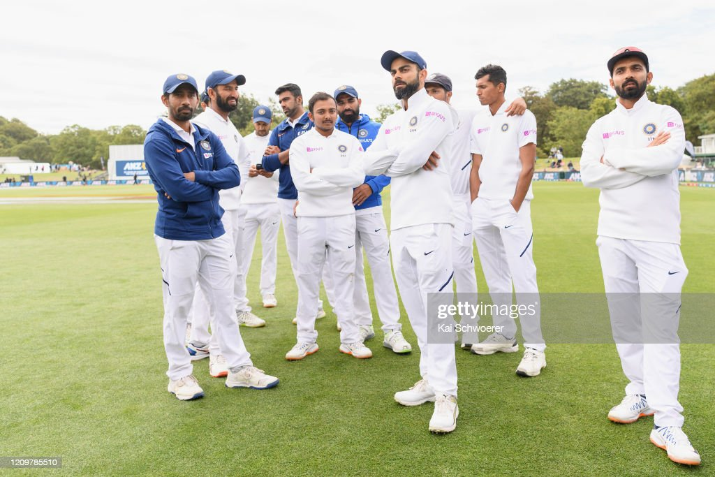 New Zealand v India - Second Test: Day 3 : News Photo