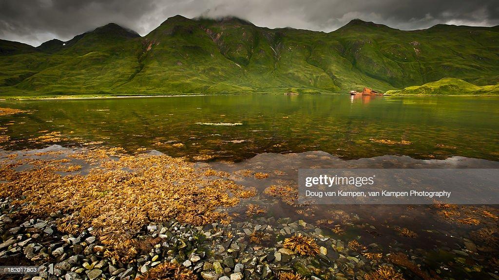 Captains Bay - Dutch Harbor, Alaska : Stock Photo