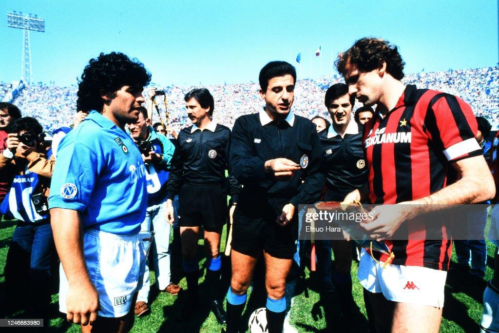 Napoli v AC Milan - Serie A : News Photo