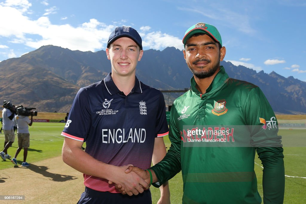 ICC U19 Cricket World Cup - Bangladesh v England