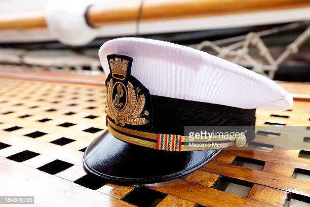 captain's hat - team captain stock pictures, royalty-free photos & images