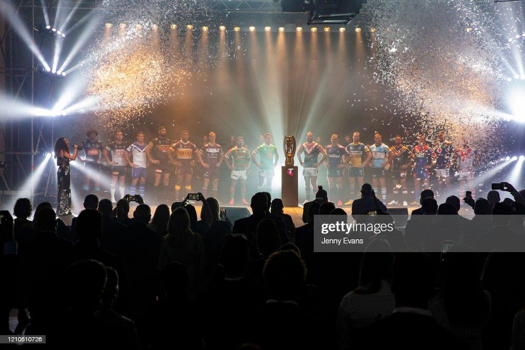 2020 NRL Season Launch : News Photo
