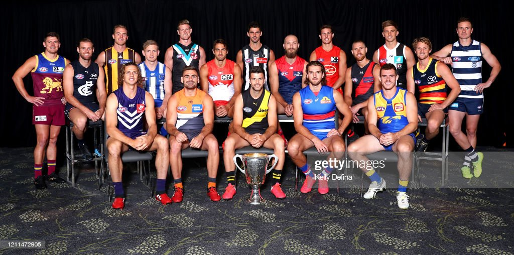 2020 AFL Captain's Day : News Photo