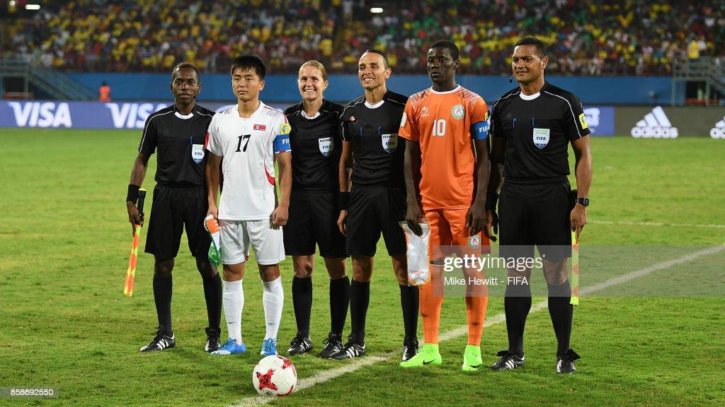 Korea DPR v Niger - FIFA U-17 World Cup India 2017 : News Photo