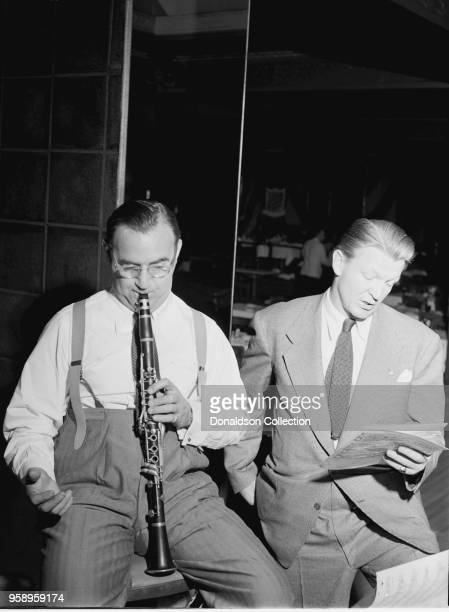 Benny Goodman The King of Swing is sitting high After a long period of relative inactivity he's back in the swing with a very musicianly crew