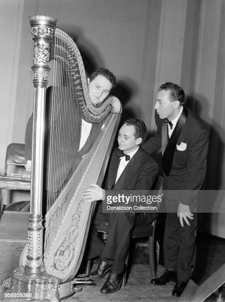 Caption from Down Beat: Prior to Woody Herman's recent very successful Carnegie Hall concert, the band put in several days of serious rehearsing of...