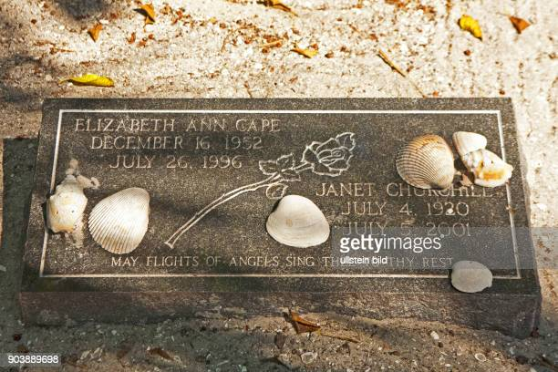 Captiva's Historic Cemetery AMERIKA USA FLORIDA Sanibel Island 102010