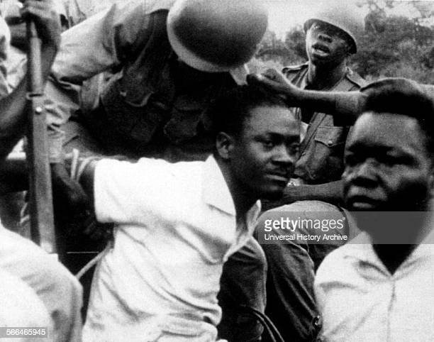 Capture of Patrice Émery Lumumba Congolese independence leader and the first democratically elected Prime Minister of the Republic of the Congo
