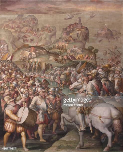 Capture of Porto Ercole 15681570 Artist Vasari Giorgio