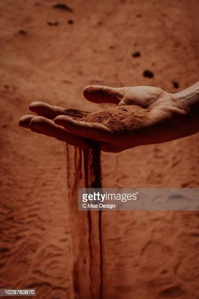 Capture the sand
