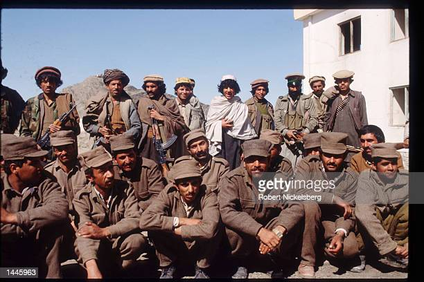 Captured Afghan soldiers sit March 15 1989 in Jalalabad Afghanistan The end of Soviet military occupation which began in 1979 will leave the Afghan...