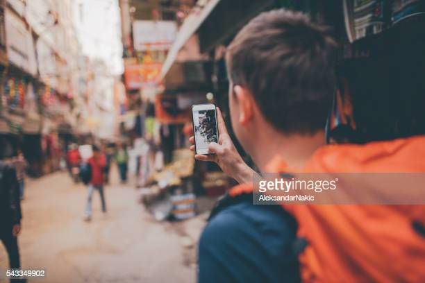 capturing local's lifestyle - pokhara stock pictures, royalty-free photos & images