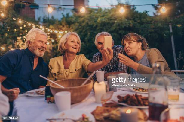 Capturing memories from dinner party