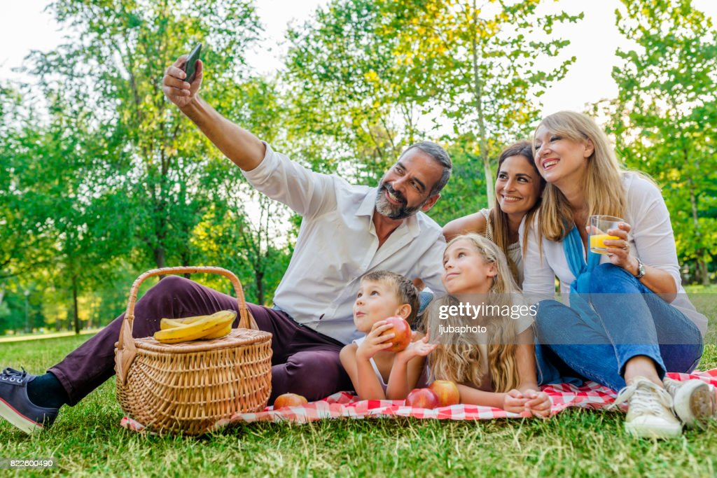 Capturing special family times : Stock Photo