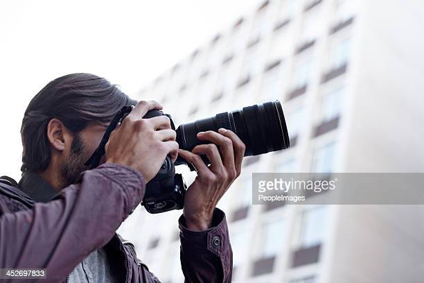 Capturing the beauty that surrounds him