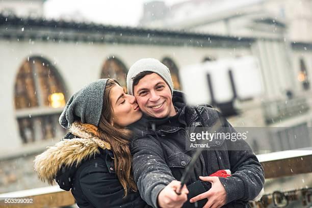 Die Ihren Lieben und erste Schnee