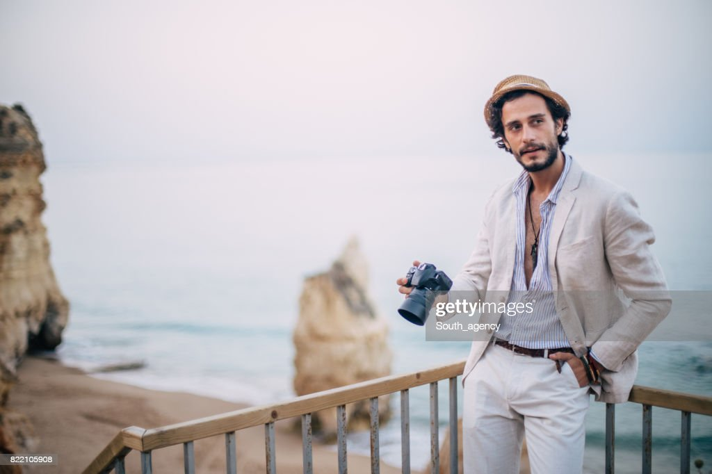 Capturing this beautiful place : Stock Photo