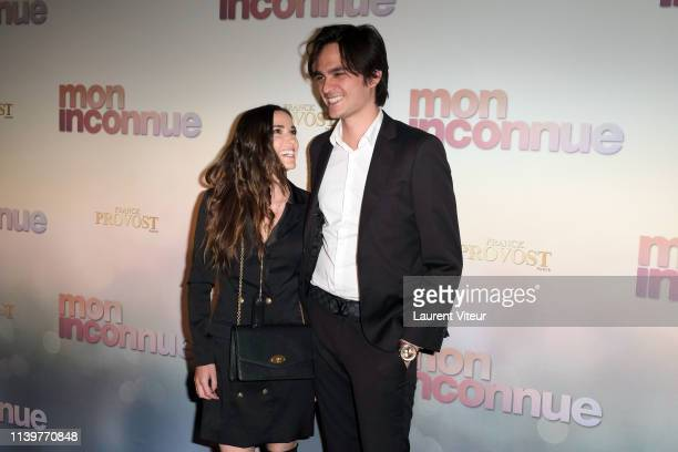 Capucine Anav and AlainFabien Delon attend Mon Inconnue Premiere at Cinema UGC Normandie on April 01 2019 in Paris France