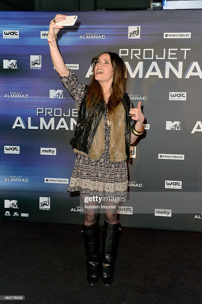 'Project Almanac' Paris Premiere At UCG Bercy : News Photo