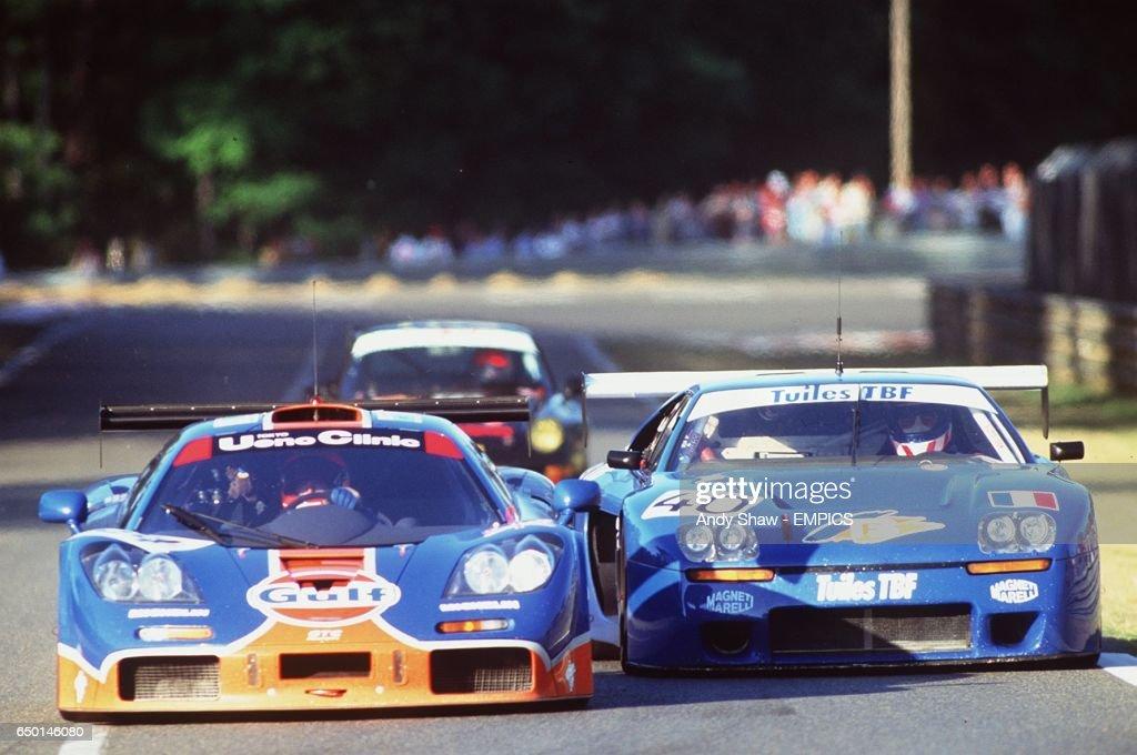 Motor Racing, Le Mans 24 Hrs. : News Photo