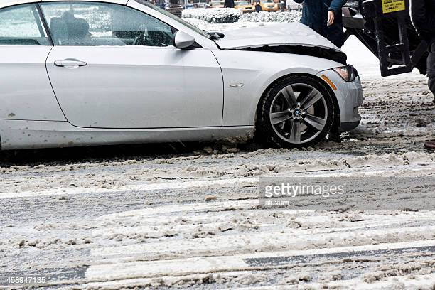 Car accident in New York City