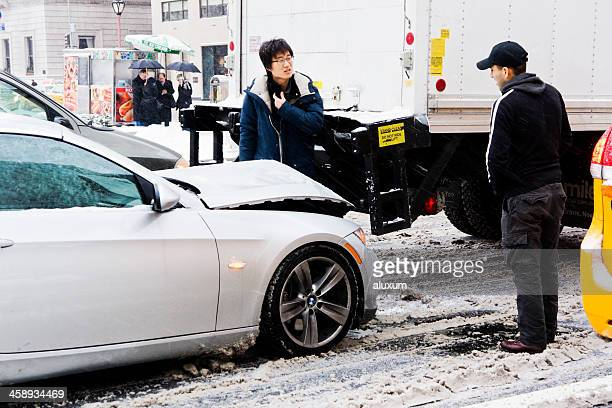 Car accident in New York