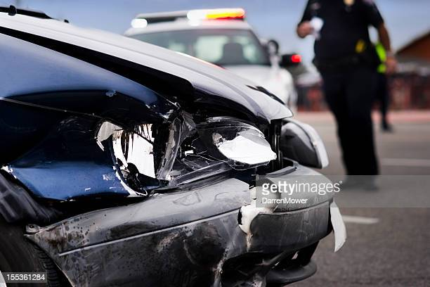 car accident - wreck stock pictures, royalty-free photos & images