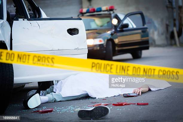 car accident - of dead people in car accidents stock pictures, royalty-free photos & images